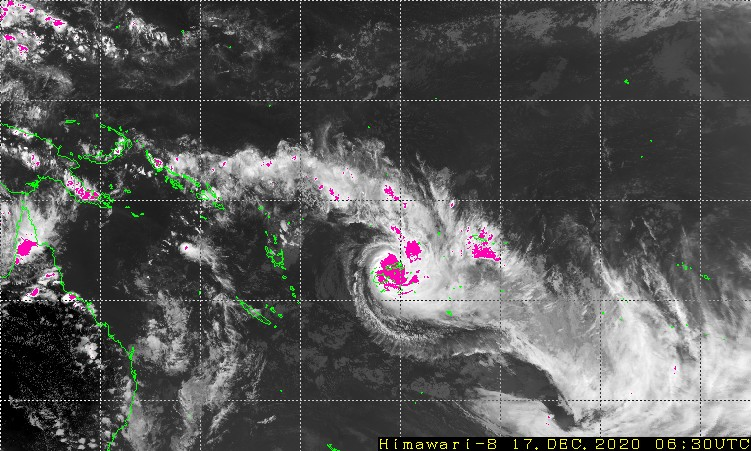 Severe (Category 5) Tropical Cyclone YASA could ruin Christmas for many in Fiji.